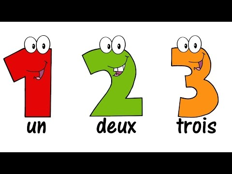 ♫ FRENCH Numbers Song 120 ♫ Compter jusquà 20 ♫ Comptine des Chiffres ♫ Learn French