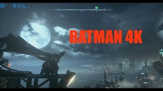 Batman Arkham Knight Free Roam Gameplay (PC HD 4K)
