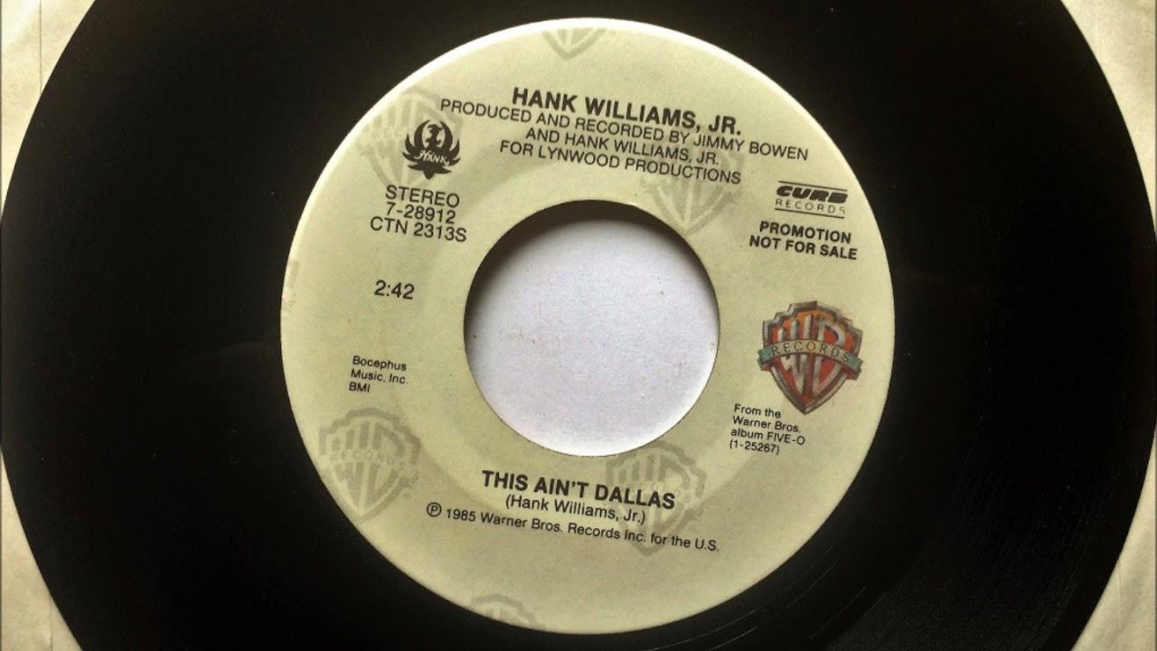 Hank Williams Jr - This Aint Dallas - YouTube