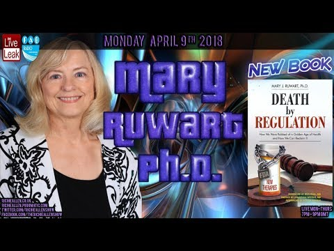 "Mary Ruwart On New Book ""Death By Regulation"" Big Pharma, FDA, Vaccine Safety & More."