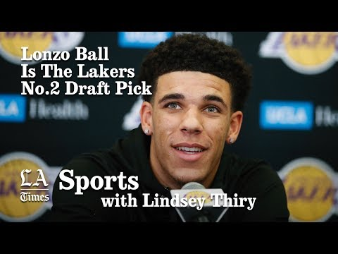Lakers select Lonzo Ball with No. 2 pick in the NBA Draft