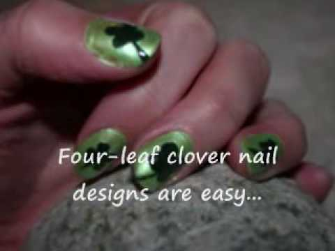 Easy four leaf clover nail designs st patricks day nail art easy four leaf clover nail designs st patricks day nail art youtube prinsesfo Gallery