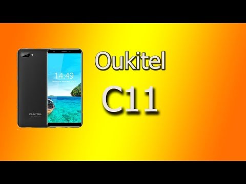 Oukitel C11  обзор, тест.