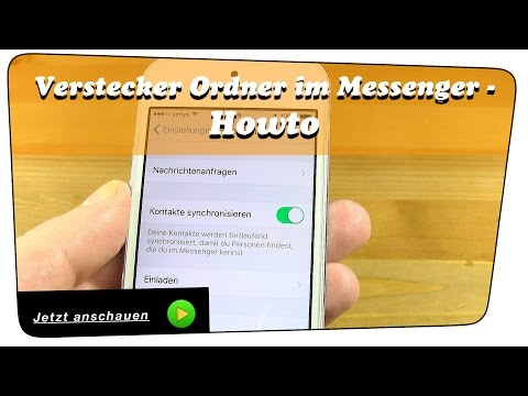 Facebook Messenger Versteckter Ordner - Howto | Anleitung