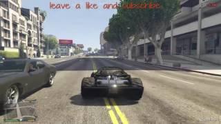 Gta5 How to make the ramp car