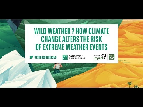 Wild weather? How climate change alters the risk of extreme weather events