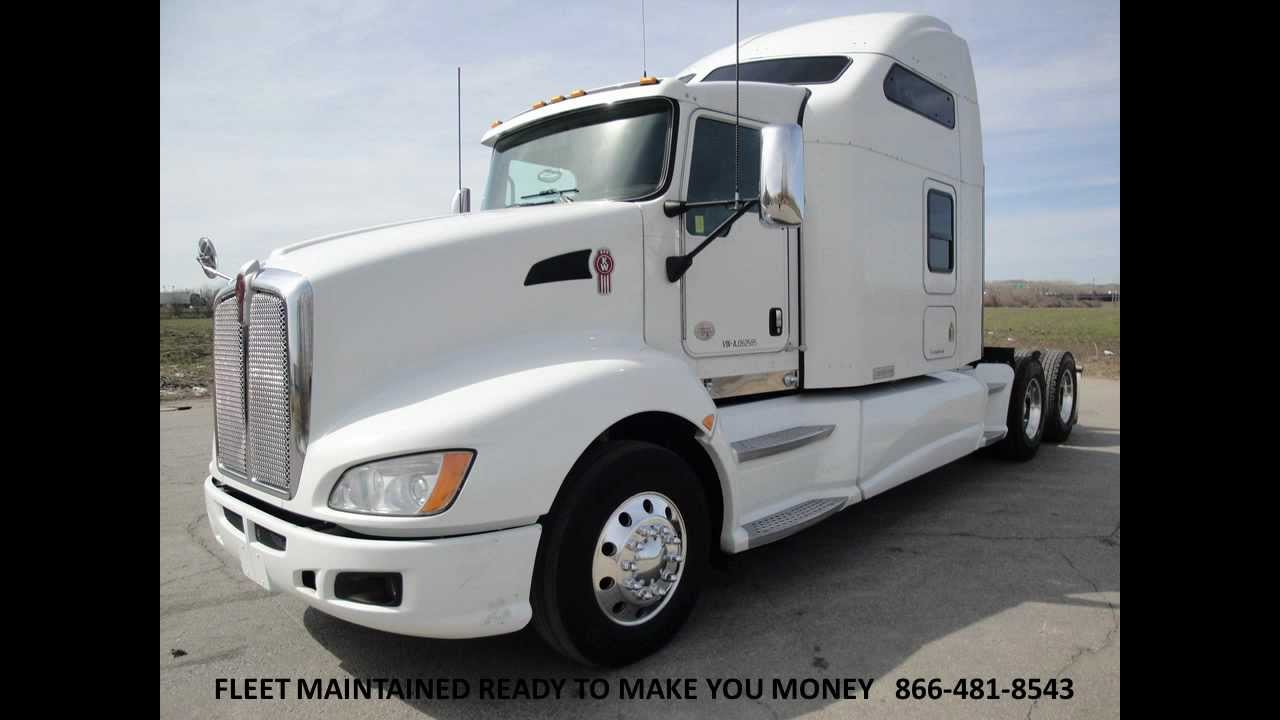 2010 kenworth t660 studio sleeper with couch from used truck pro 866 481 8543 youtube for Kenworth t660 studio sleeper interior