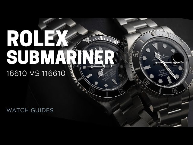 Rolex Submariner Comparison Review: 16610 vs 116610 | SwissWatchExpo [Rolex Watches]