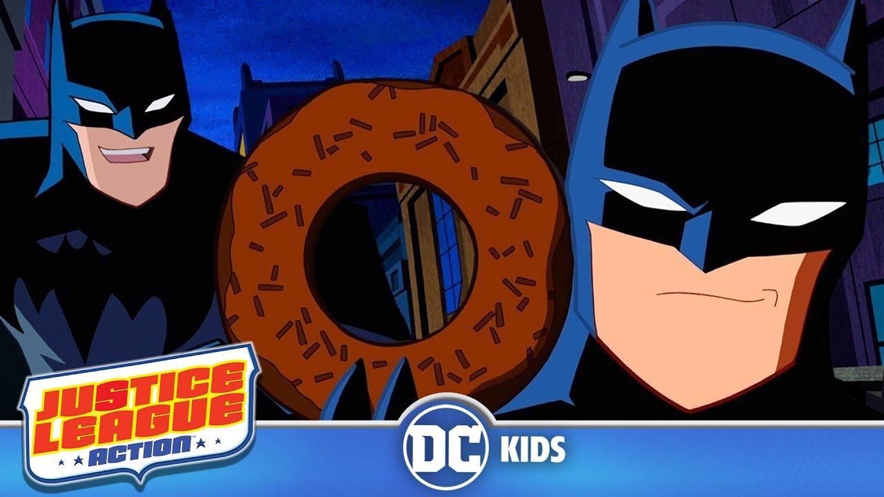 Justice League Action | Funniest Batman Moments! | DC Kids