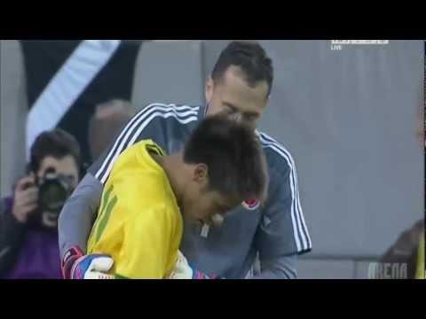 Neymar Erró un Penal a lo Sergio Ramos Bra1 vs Col1