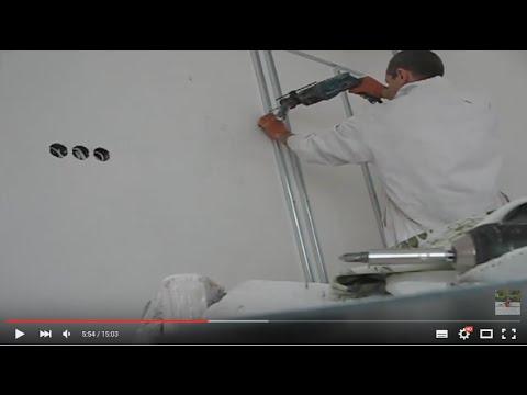 видео: Декоративные работы из гипсокартона (один из вариантов)!