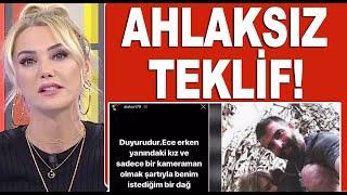 Mehmet Akif Alakurt, Ece Erken ve Bircan Bali'yi dağ başına çağırdı!