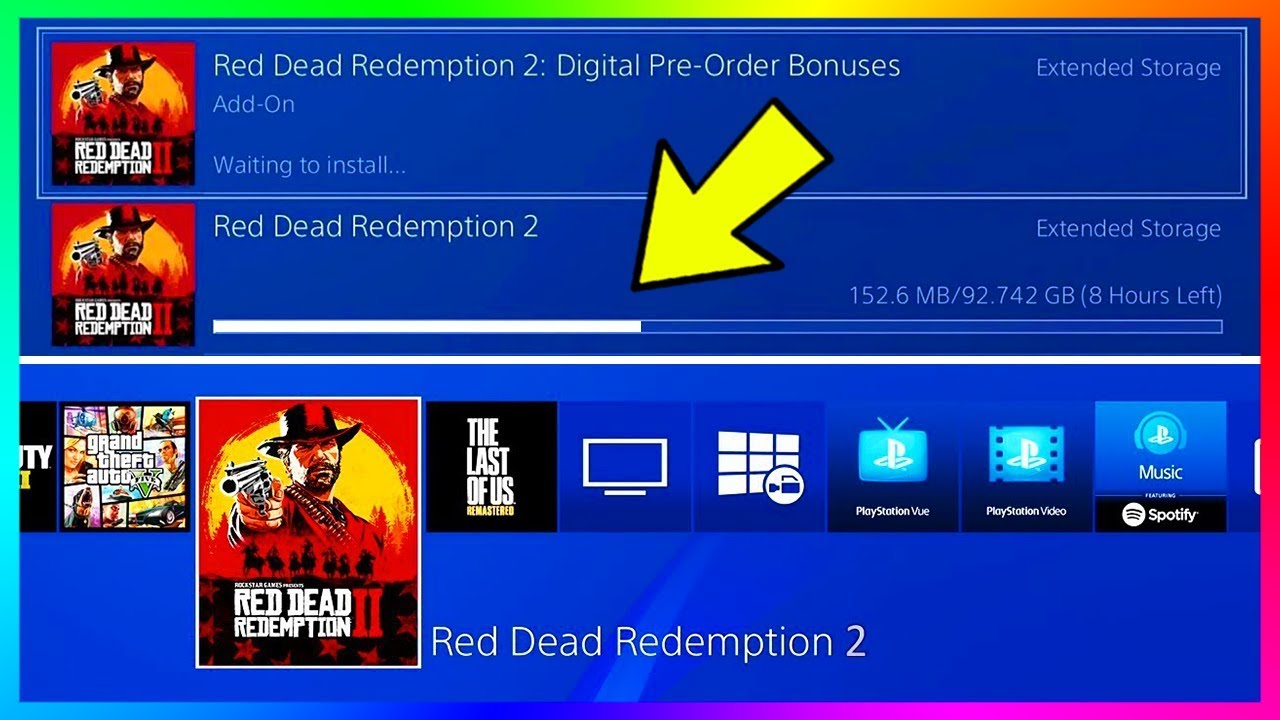 digital download red dead redemption 2 ps4