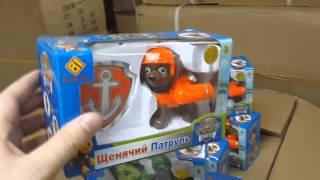 Отправка партии игрушек PAW PATROL-Щенячий патруль(, 2015-06-21T01:24:30.000Z)