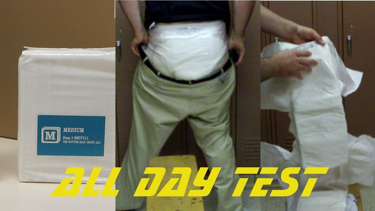 Bambino Bianco Adult Diaper Test And First Look Youtube