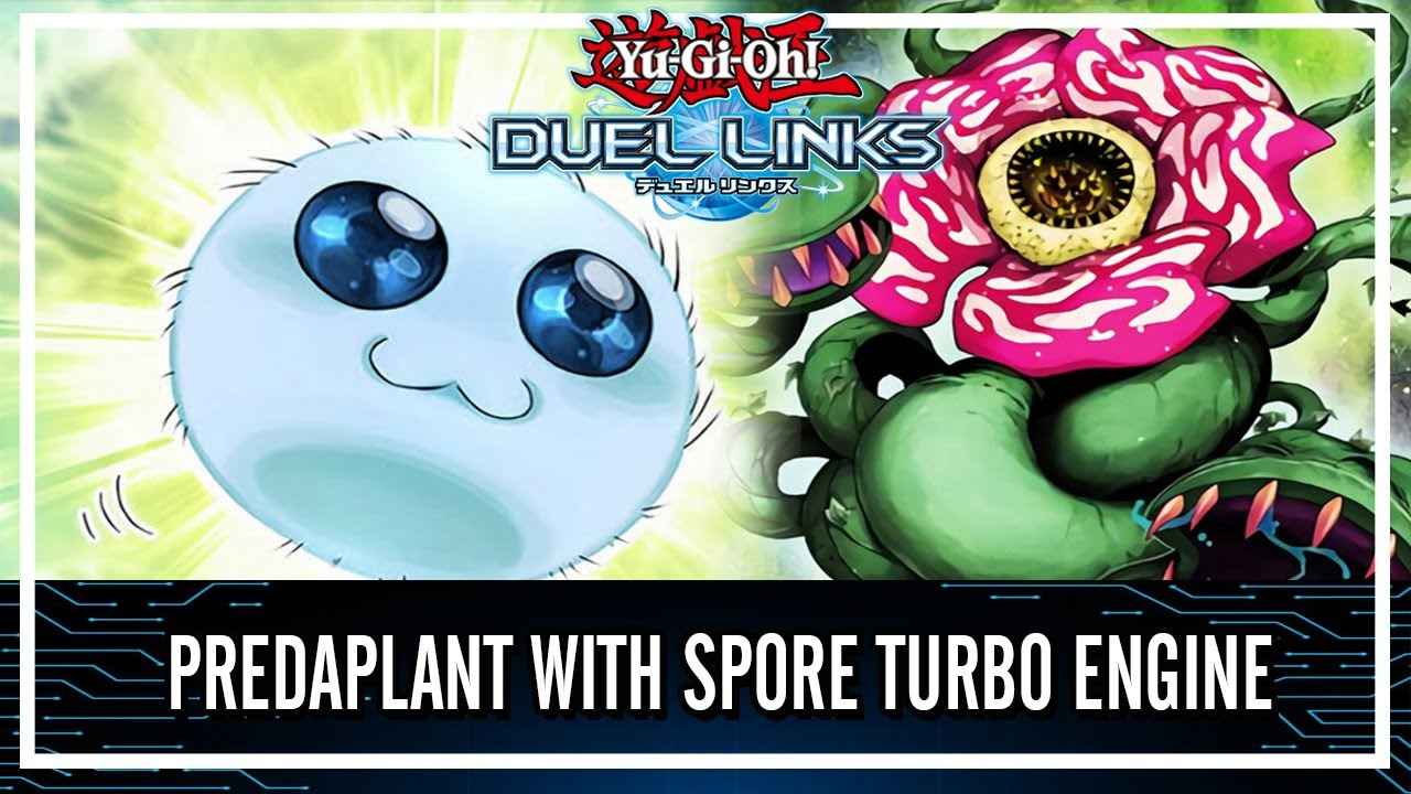 Predaplant with Spore Turbo Engine One Card Combo!? [Yu-Gi-Oh! Duel Links]