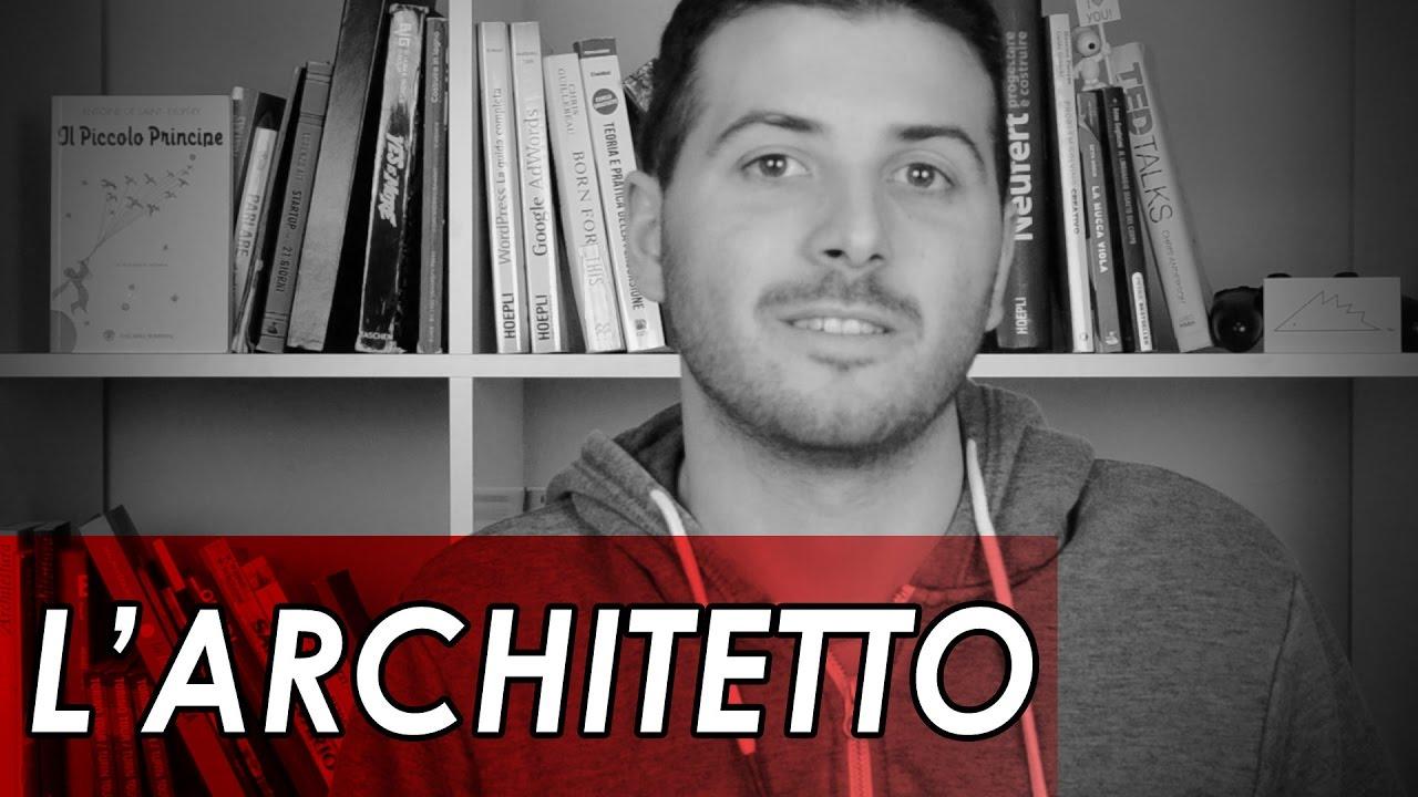 cosa fa un architetto youtube