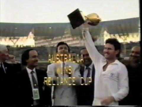 1987 Cricket ODI World Cup Final  Australia v England