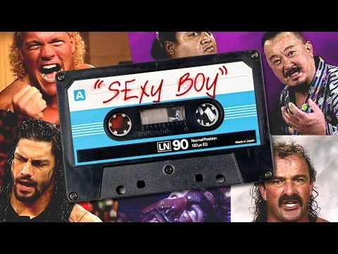 "WWE Superstars sing Shawn Michaels' ""Sexy Boy"""