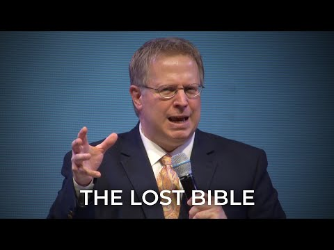 The Lost Bible – Pastor Raymond Woodward