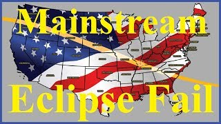 Flat Earth & mainstreams problem with the August 21 solar eclipse path - Mark Sargent ✅
