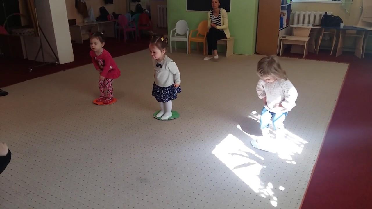 Танцы для малышей 2.3 года - YouTube