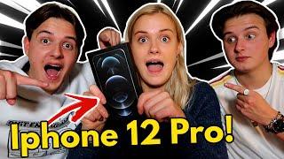 Overrasker søster med IPHONE 12 PRO!!