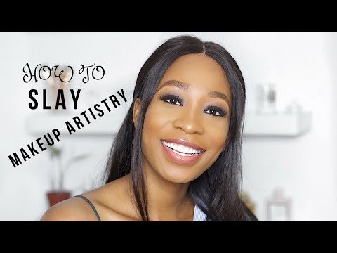 HOW TO: BECOME A MAKEUP ARTIST AND SLAY AT IT | STEPHANIE ANI
