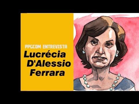 PPGCOM entrevista Lucrécia FERRARA