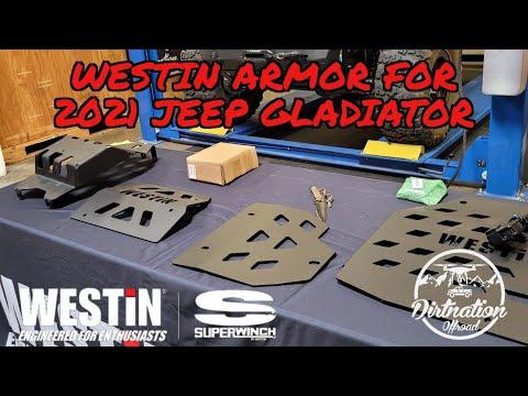 2021 Jeep Gladiator Engine, Transmission, and Transfer Case Skid Plate Install! Westin Automotive