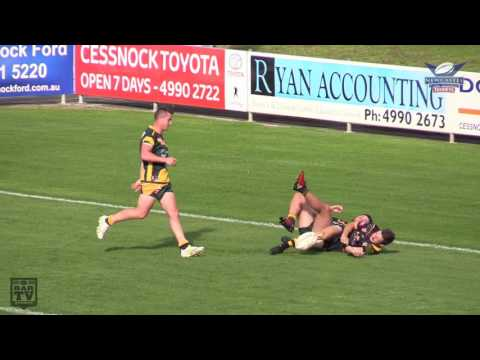 2017 Newcastle RL Round 5 U19's Highlights – Macquarie Scorpions Vs. Cessnock Goannas