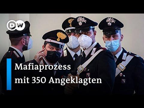 Italien eröffnet riesigen Mafia-Prozess mit 350 Angeklagten | DW Nachrichten