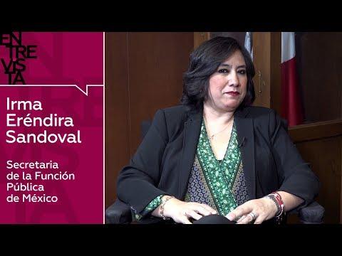 """Eréndira Sandoval: Administración López Obrador """"no puede ser un Gobierno rico con un pueblo pobre"""""""