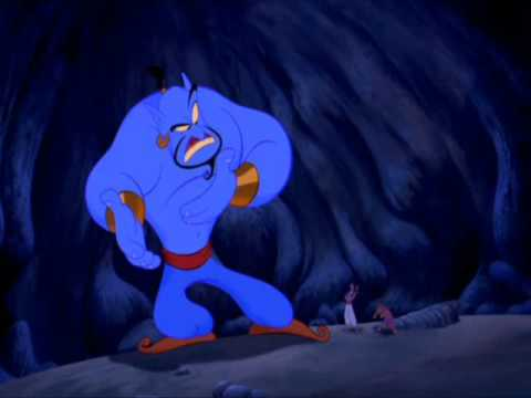 Genie gets pissed.