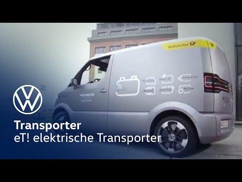 Volkswagen Et Elektrische Transporter Concept Car Youtube