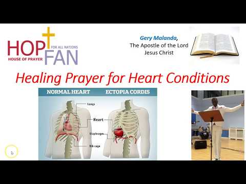 Healing Prayer For Heart Conditions