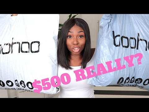 I SPENT $500+ ON BOOHOO THIS IS WHAT I GOT! REALLY?