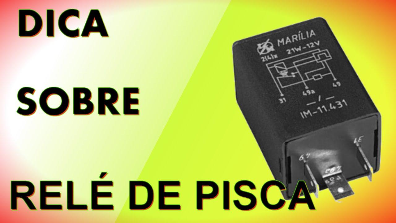8c706ea3092 DICA DE RELÉ DE PISCA - YouTube