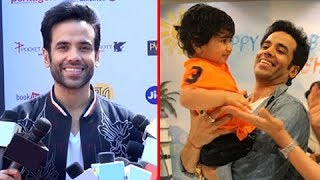 Tusshar kapoor on spending time with baby laksshya kapoor