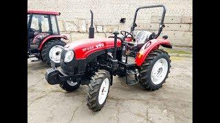 Agroassistance: Обзор трактора YTO 454 (45 л.с.)