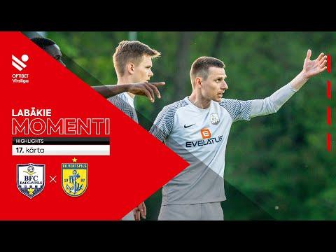 BFC Daugavpils Ventspils Goals And Highlights