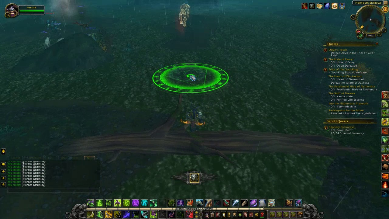 World of warcraft slippery stormrays fishing legion world for Wow fishing guide
