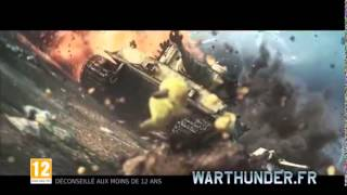 War Thunder bande annonce. War Thunder (fr) bande annonce
