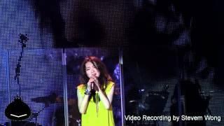 (HD)閻奕格 - 大城小事  (我回來了) 演唱會香港站 120418 原唱 楊千嬅
