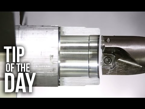 Use Your Insert Drill as a Boring Bar! 2 Operations from 1 Tool! – Haas Automation Tip of the Day
