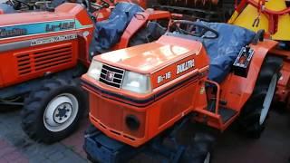 Używane japońskie traktorki glebogryzarki ogrodowe-Sprzedaż. www.akant-ogrody.pl