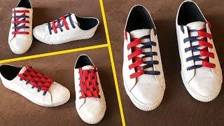3 Creative Shoe Lacing   Dual Color Style