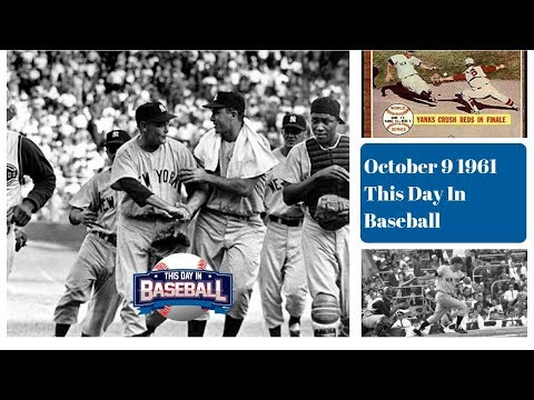New York Yankees defeat Cincinnati Reds in 1961 World Series