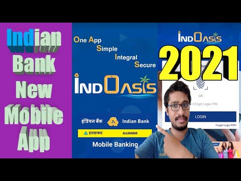 How To Open IndOasis App?  Indian Bank 2021 New Mobile App   Nam Tamizh Muthu  #IndoasisRegistration