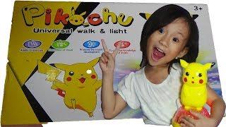 Mainan anak pikachu bisa nyanyi bukan lagu Pokemon pikachu song-Nursery rhymes for kids for babies